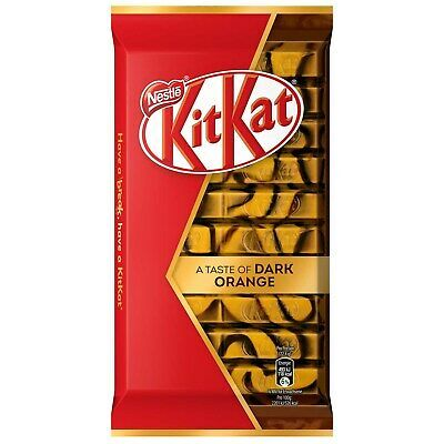 Primary image for KitKat DARK ORANGE chocolate bars (no cool pack) FREE SHIPPING