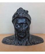 Italian Cast Bronze Bust  Dante Alighieri Poet Figure Sculpture Circa 19... - $255.00