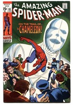 Amazing Spider-man #80 1970- Chameleon appearance- Marvel VF/NM - $212.19