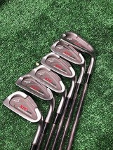 XPC Plus Graphite Weighted Twin Cut Sole 4, 5, 6, 7, 8, 9 Iron Set Graph... - $69.99