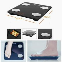Smart Scale, ZOETOUCH Digital Bathroom Scales image 3