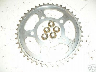 Triumph Sprint 93-98 Daytona 1200 Speed 3 Thunderbird Trophy rear sprocket 43 te