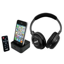 Pyle UHF Wireless Stereo Headphone with Wireless iPhone/iPod Dock Transm... - $87.99