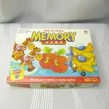 """Vintage 1996 Milton Bradley """"Original Memory Game"""" My First Matching Card Game - $24.99"""