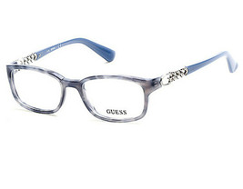 NEW Guess 2558-51092 Blue 51mm Eyeglasses - $56.70