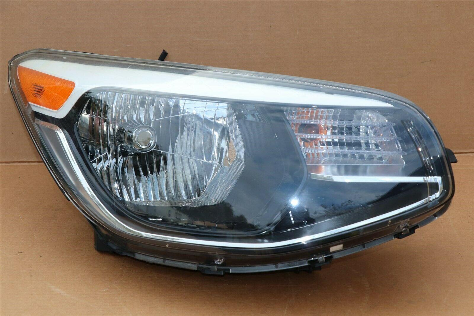 14-16 Kia Soul Halogen Headlight Head Light Lamp Right Passenger Right RH