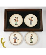 Lot of 4 Hummel Miniature Collectors' Plates 1984 - 1987, All Boxes Included - $59.40