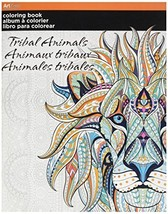 Trends Coloring Book -Tribal Animals by Trends International - $32.00