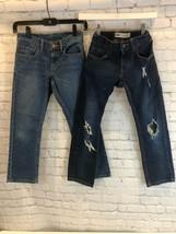 Boys 8 Regular Levi's 511 24x22 Lot Of 2 Jeans - $14.84