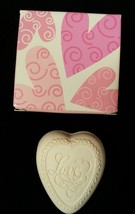 AVON Collectible Love Heart Soap Valentine's Day White 1 oz. 2003 New in... - $7.47