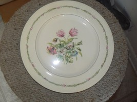Theodore Haviland Garden Flower dinner plate 3 available - $12.47