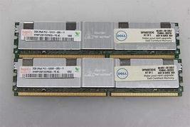 Kit Of 2 - Hynix HYMP125F72CP8D3-Y5 2GB Server Dimm DDR2 PC5300(667) FULL-BUF Ec - $24.76