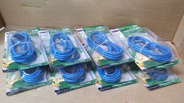 (10) New Belkin A3L791-07-BLU-S Cat 5E RJ45 MALE/MALE Snagless Patch Cables - $28.00
