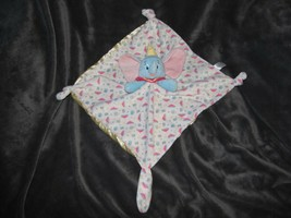 Disney Baby Kids Preferred Plush Dumbo Secuirty Blanket Lovey Elephant Yellow image 1