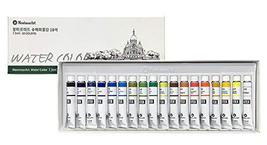 Montmar Art Watercolor Water Colour Paint Painting 18 Colors 7.5ml Tubes Set
