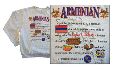 Armenia national definition sweatshirt 10263