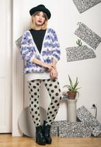 Fluffy knit jumper - 80s vintage sweater - $40.30