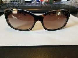 Oliver Peoples Sunglasses Caressa OV5111S 1003/13 Coco Brown Stripe NEW  - $48.51