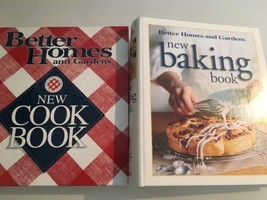 Better Homes And Gardens : Lot Of 2 Books / Baking And Cookbook - $14.70