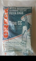 Pack of 8  Oreck XL Type CC Vacuum Cleaner Bags CCPK8DW - $14.00
