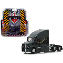 2019 Mack Anthem Highway Long Haul Truck Cab Gray with Black and Gold St... - $28.37