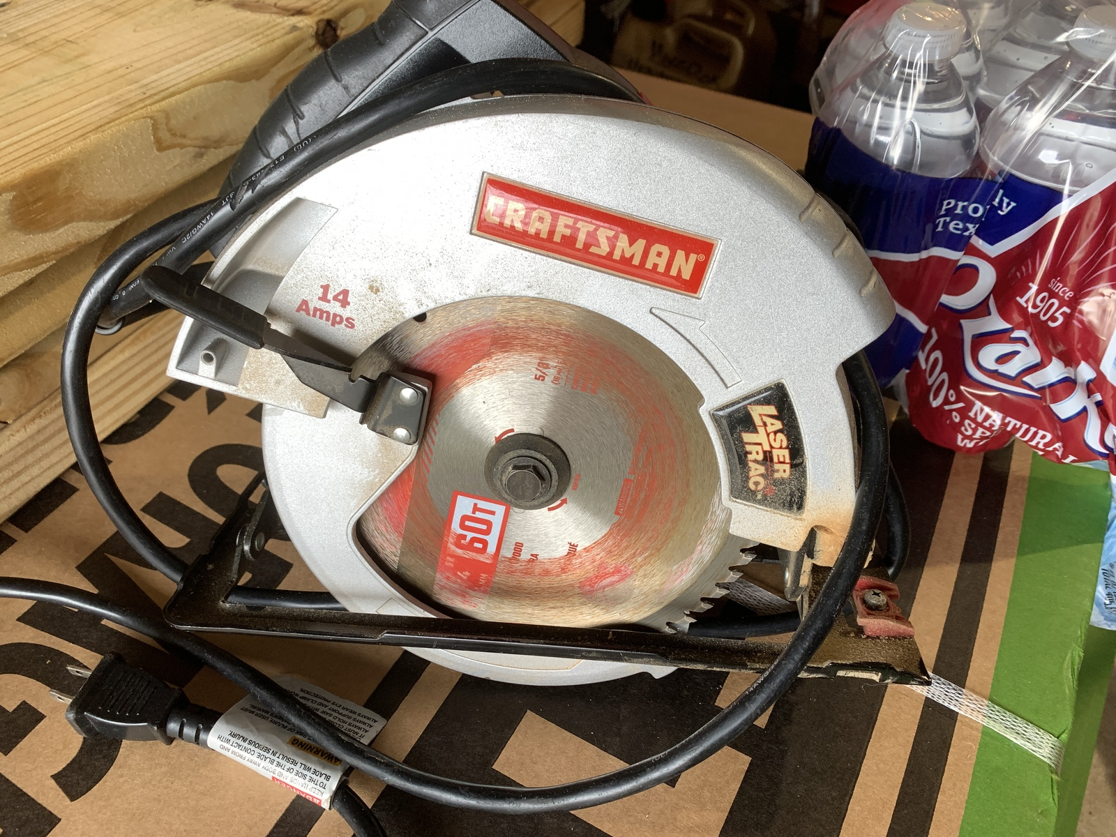 Craftsman 7 1/4 inch Circular Saw - $35.00