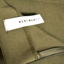 Blue Blush Olive Army Green Mini Asymmetrical Envelope Skort Size S image 3