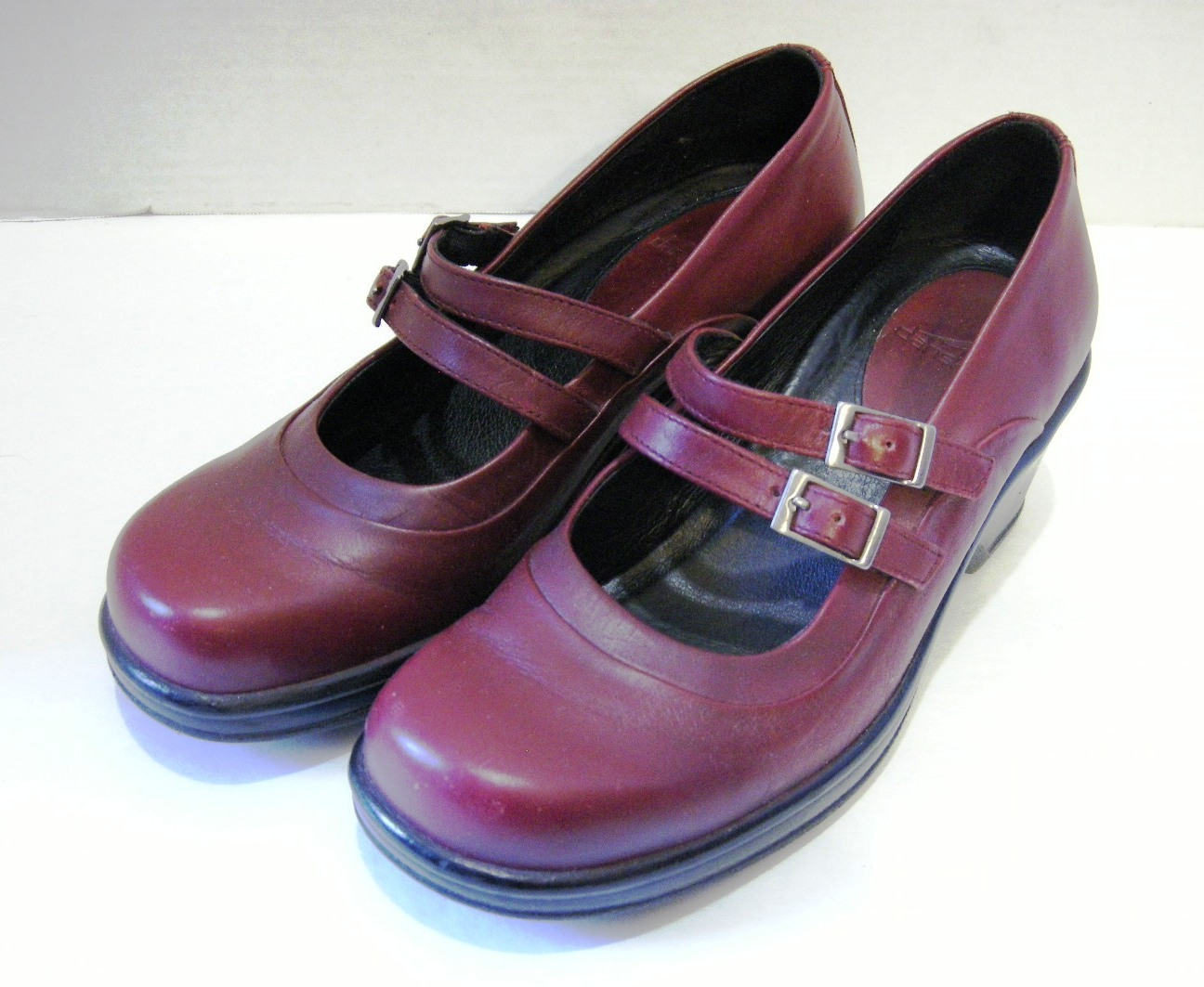 4947b99a4ab Dansko Babette Red Wine Mary Janes Double and 50 similar items