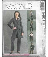 McCall's Pattern #M4601-Misses Jacket-Vest-Skirt-Pants in Sizes 10-12-14-16 - $6.76