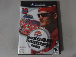 EUC NASCAR Thunder 2003 - Nintendo Gamecube Complete Free Ship - $11.87