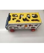 Kinder Vorschule Tier- Bus Holz Entwicklungsbiologie Spielzeug Alphabet ... - $41.76
