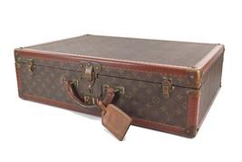 Auth VTG LOUIS VUITTON Bisten 60 Monogram Suitcase Travel Bag Luggage #2... - $1,499.00