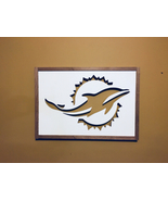 Back lit wall decor. Miami Dolphins    - $150.00