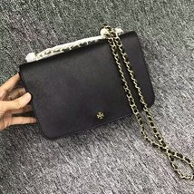 Tory Burch Black Robinson Adjustable Shoulder Bag - $300.00