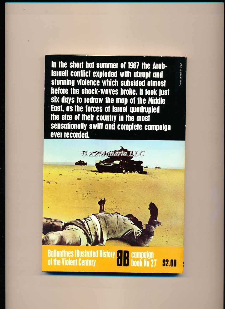Six Day War ( Campaign Book, No 27)