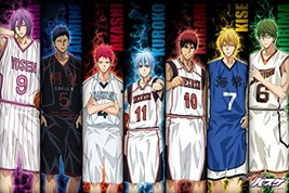 1000 Piece Jigsaw Puzzle Kuroko's Basketball Intention to Victory (50x75cm) - $222.19