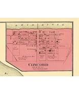 Concord Kentucky - Titus 1877 - 23.00 x 31.09 - $36.58+