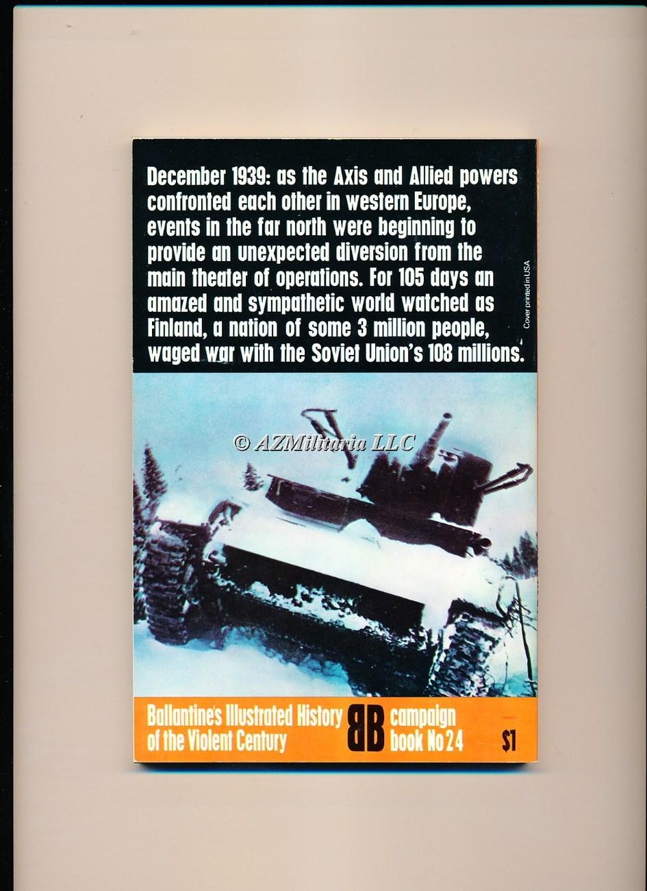 The Winter War Russia Against Finland (Campaign Book, No 24)