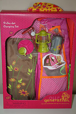 & New Our Generation Doll Polka Dot Camping and 37 similar items