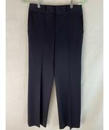 Ralph Lauren Petites Pants PS Black Rayon Spandex Blend Stretch Knit Zip... - $38.61
