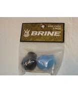 Brine 2 pack Lacrosse endos King logo ENDO women's blue black NOS NEW ol... - $11.08