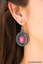 Take the Trail Less Traveled - Pink Earring - $5.00