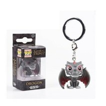 An item in the Collectibles category: FUNKO POP Keychain Marvel Stranger Things Drogon Game of Thrones With Box