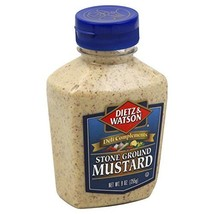 Dietz & Watson, Deli Compliments, Stone Ground Mustard, 9oz Bottle Pack of 2