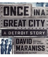 Once in a Great City : A Detroit Story by David Maraniss (2015, CD, Unab... - $356,12 MXN
