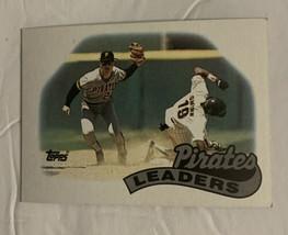 Vtg 80's Topps 1988 Team Leaders Pittsburgh Pirates Leaders #699 Basebal... - $7.69