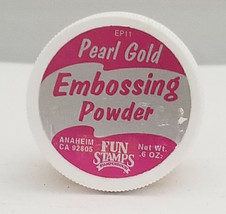 Stampendous Embossing Powder, Pearl Gold image 2