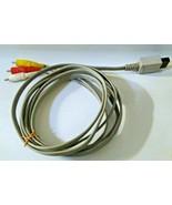 Genuine Original Nintendo Wii AV A/V Composite Cable RVL-009 (6ft) - $10.10