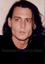 Johnny Depp Long Haired and Earrings 4x6 Photo - $4.99