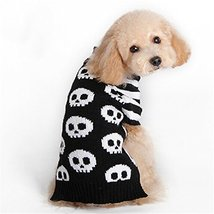 NACOCO Pet Sweaters Skeleton Sweater The Cat Dog Clothes Pet Clothing Li... - $10.89